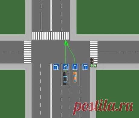 Кто должен ехать первым при сужении двухрядного дорожного полотна в один | Рекомендательная система Пульс Mail.ru