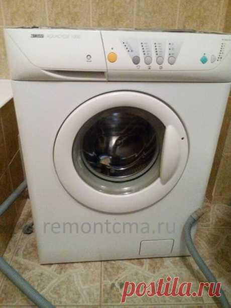 Замена подшипника в стиральной машине Занусси (Zanussi) своими руками