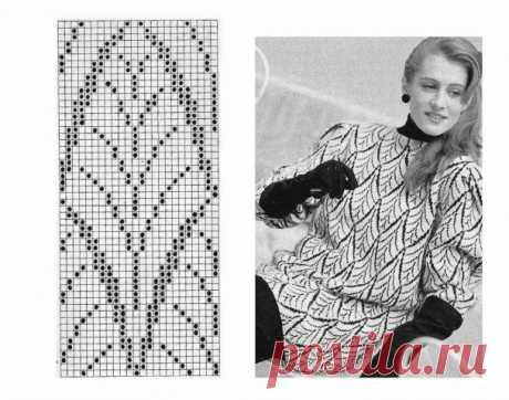 Двухстороннее вязание. 2 - запись пользователя Vikpolia (Нина) в сообществе Вязание спицами в категории Вязание для женщин спицами. Схемы вязания спицами