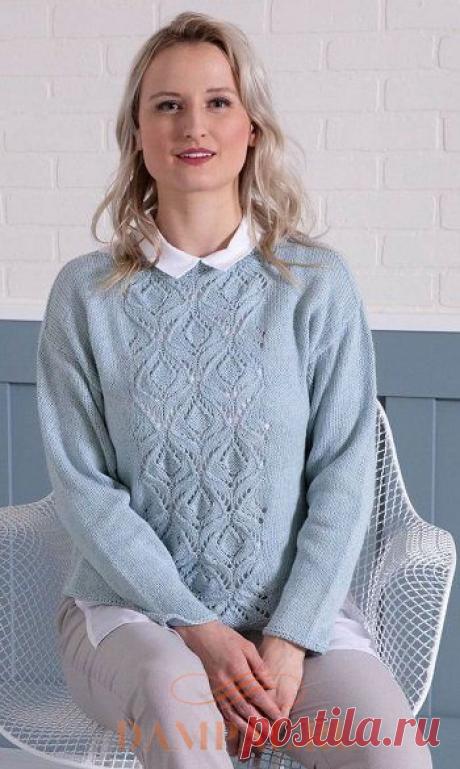Вязаный пуловер «Macau» | DAMские PALьчики. ru