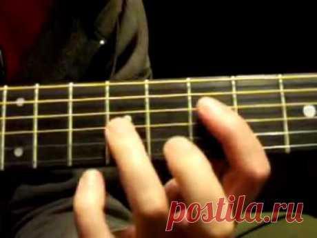 """Урок """"Eagles - Hotel California"""" акустическая версия_2"""