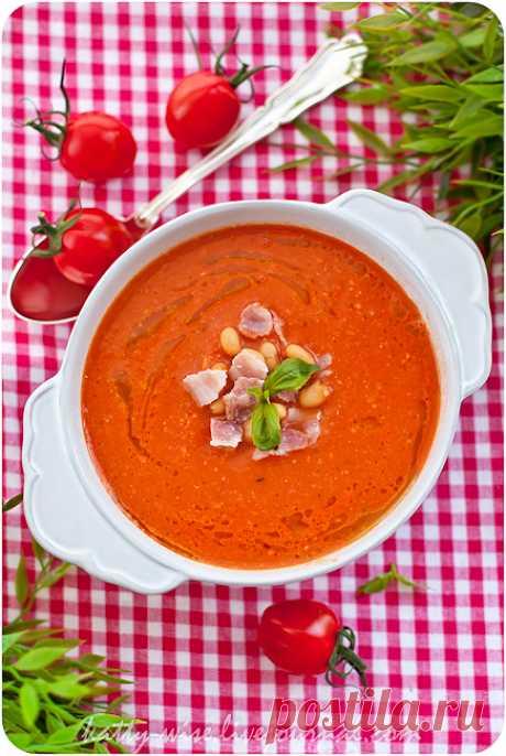 Томатный суп-пюре с фасолью и беконом - Wise — ЖЖ