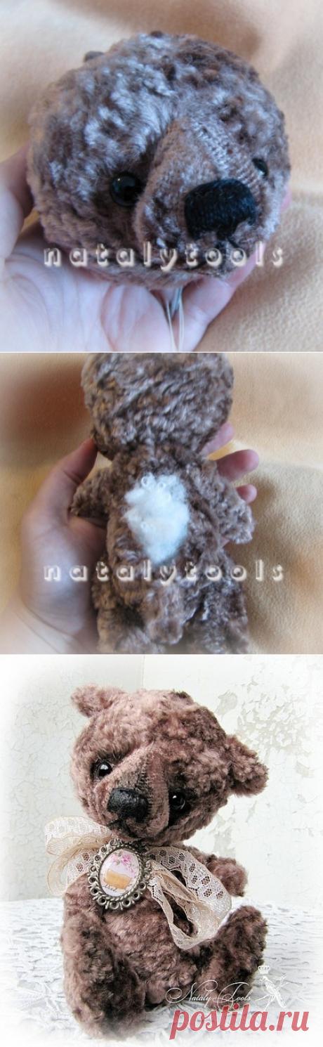 Создаем мишку-тедди сами! Мастер-класс Натальи Толстыкиной - Ярмарка Мастеров - ручная работа, handmade