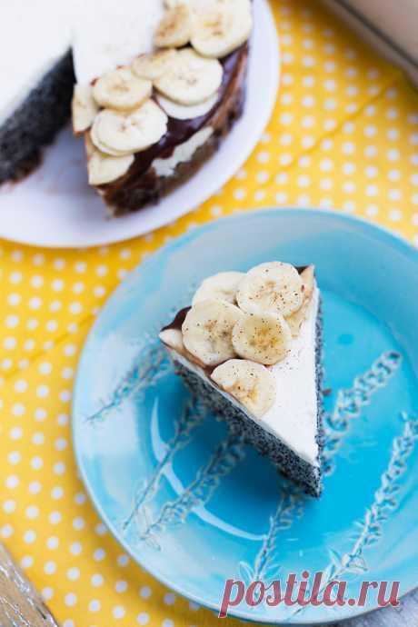 Кулинарный рецепт: Маковый пирог со сметанным кремом от Анастасии Скрипкиной