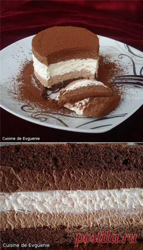 "Торт-мусс ""Три шоколада"""