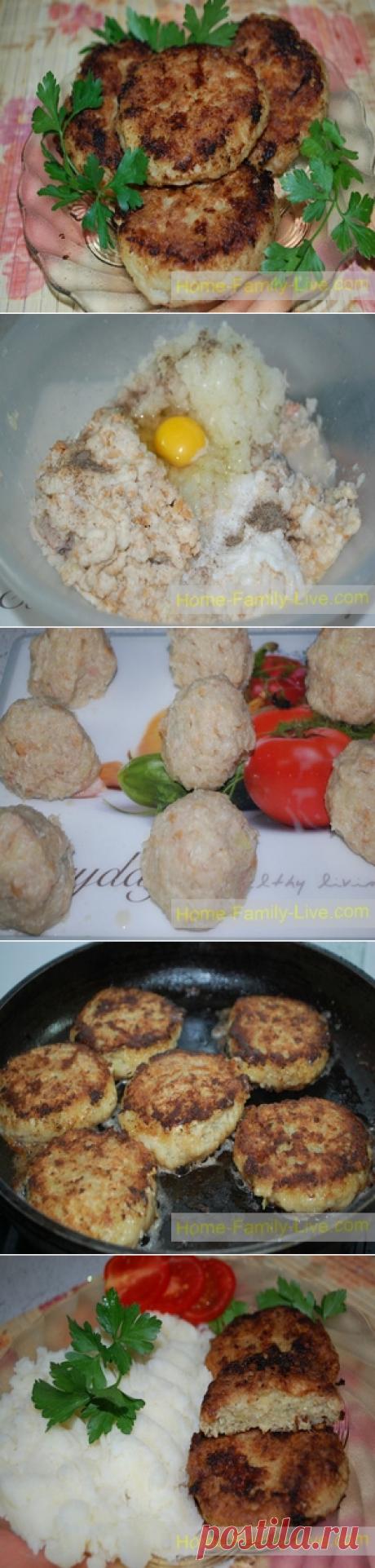 Котлеты рыбные/Сайт с пошаговыми рецептами с фото для тех кто любит готовить