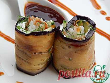 "Баклажаны ""Японика+"" - кулинарный рецепт"