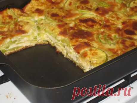Запеканка из молодых кабачков с сыром: очень просто, быстро и вкусно! - Скатерть-Самобранка - медиаплатформа МирТесен