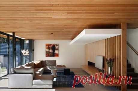 Инструкция по укладке ламината на потолок, способы крепления ламелей, как правильно выбрать ламинат для монтажа на потолок. Как сделать потолок из ламината своими руками.