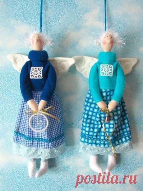 Ангелочки в стиле тильда. / Вязание как искусство!