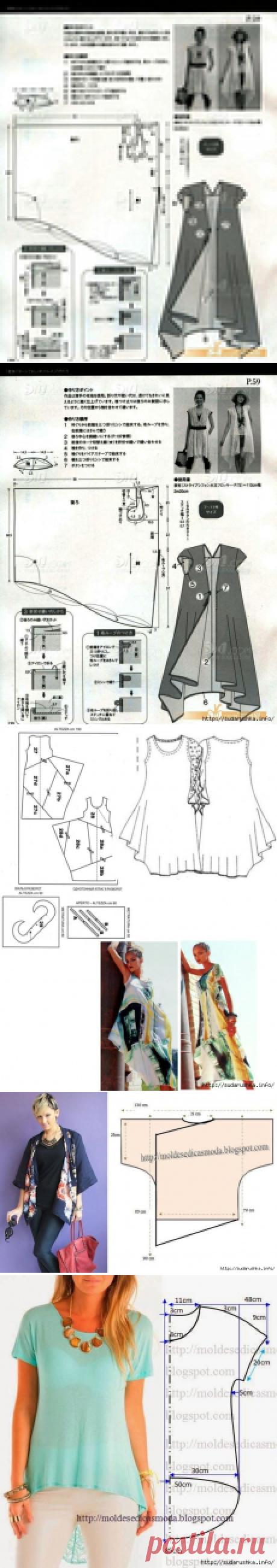 Выкройки-схемы для бохо стиля