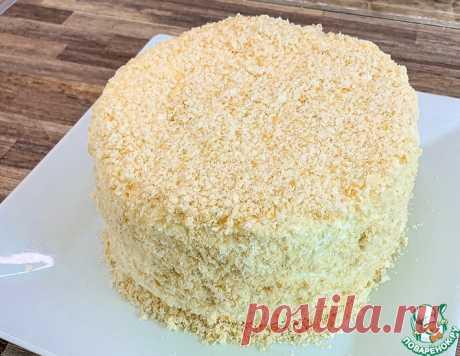 Торт из 4-х ингредиентов – кулинарный рецепт
