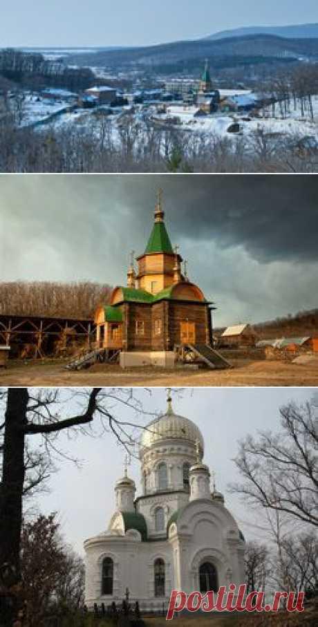 Свято-Троицкий Николаевский мужской монастырь. Приморский край