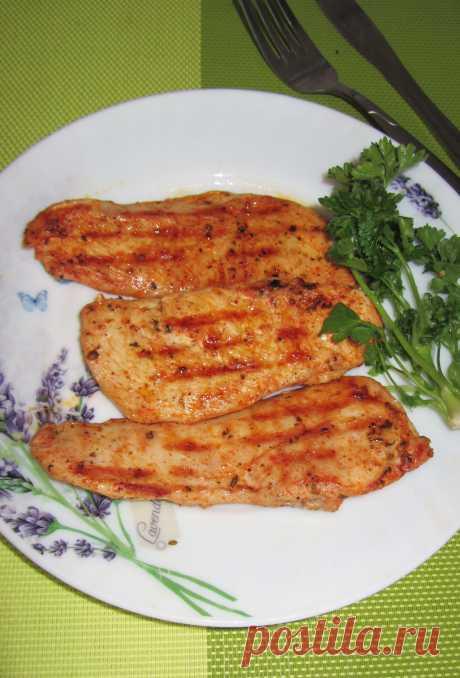 Блюда гриль - приготовить сытный ужин легко!