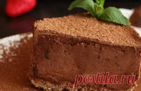 Торт Евы — шоколадное искушение, которое буквально тает во рту! Сложно удержаться…