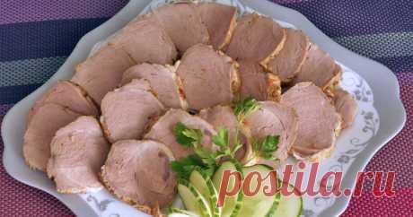 Нежнейшая вырезка для бутербродов - пошаговый рецепт с фото. Автор рецепта Надежда   🌳 . Нежнейшая вырезка для бутербродов - пошаговый рецепт с фото. #застолье На любом застолье всегда пользуется спросом мясная нарезка. Предлагаю рецепт нежнейшего мяса.