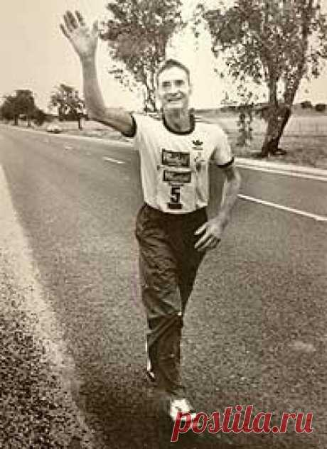 История о том, как 61-летний мужчина победил в пятидневном марафоне на 875 км