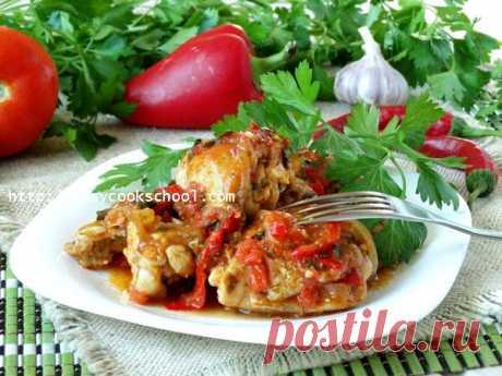 Чахохбили из курицы по-грузински: пошаговый рецепт с фото | Легкие рецепты