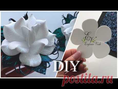 🔔1 СЕНТЯБРЯ 🔔 УКРАШЕНИЕ за 30 минут на резинки, заколки, брошь 🔔 FLOWERS with your own hands