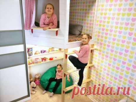 Как построить детский игровой домик . Милая Я