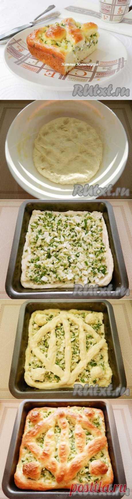 Пирог с зеленым луком (рецепт с фото) | RUtxt.ru