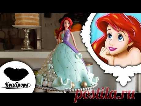 The Little Mermaid: Ariel | Doll Cake | Disney Princess