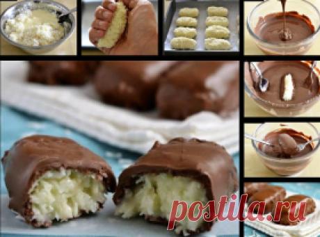 Домашние конфеты баунти - Вкусные рецепты