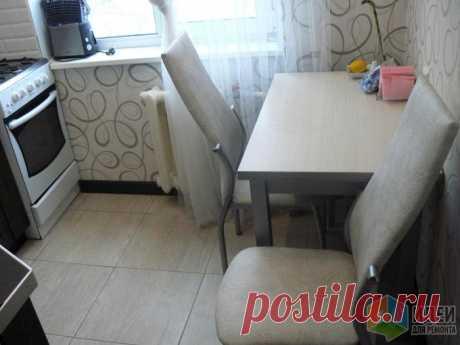 Ремонт кухни 4.8 кв. м. | Роскошь и уют