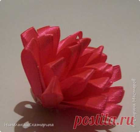 Пушистый цветок — Сделай сам, идеи для творчества - DIY Ideas