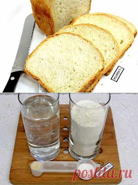 Французский хлеб в хлебопечке - рецепт с фото