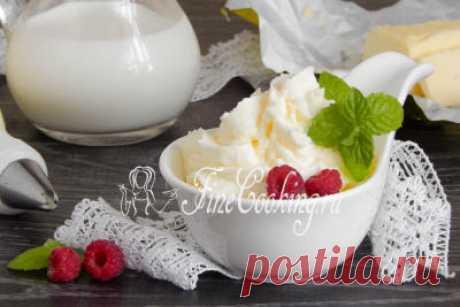 Жирные сливки из молока и масла своими руками   Четыре вкуса