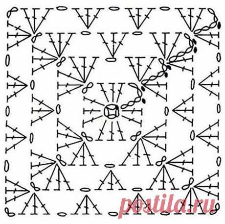 Идеи для вязания из бабушкиного квадрата | Семейные будни. | Яндекс Дзен