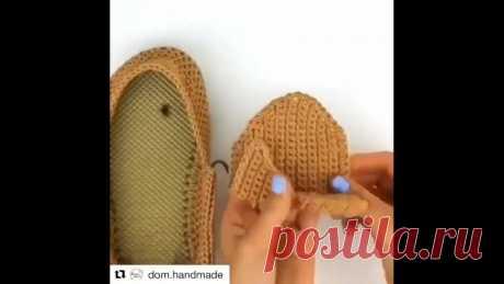 Хорошая идея переделки вьетнамок   #чудисам #творчeство #рукоделие #handmade #хобби #творим_вместе #интересно_знать #beautiful #art #вдохновение
