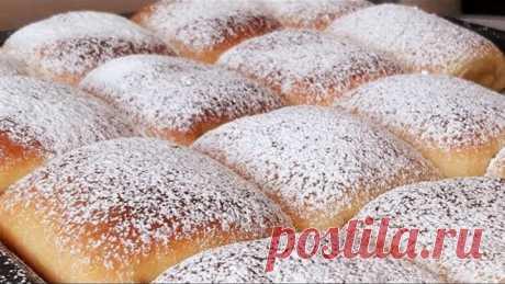 Фантастически вкусные пирожки - подушки с творожной начинкой!Pies-pillows!
