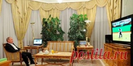 ANews - комната отдыха в РЕЗИДЕНЦИИ ПУТИНА