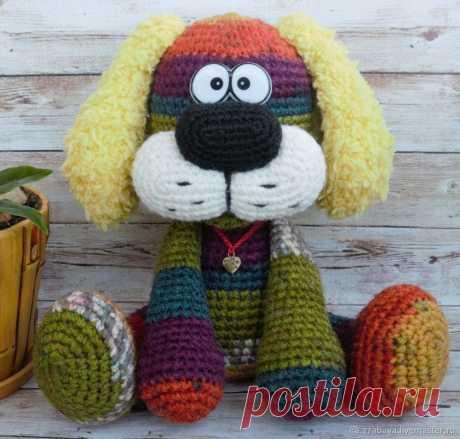Подробный мастер-класс: Создаем вязаную игрушку «Собака Барк» – Ярмарка Мастеров