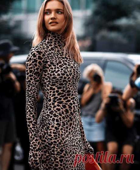 Неделя высокой моды: Наталья Водянова в потрясающем платье затмила красотой своих 25-летних коллег — Women Beauty Club