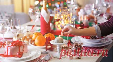 9 идей сервировки новогоднего стола