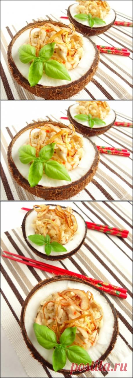 Острый рис с куриным филе по-тайски пошаговый рецепт с фотографиями