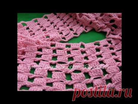 La bufanda - chiné snud la Labor de punto por el gancho