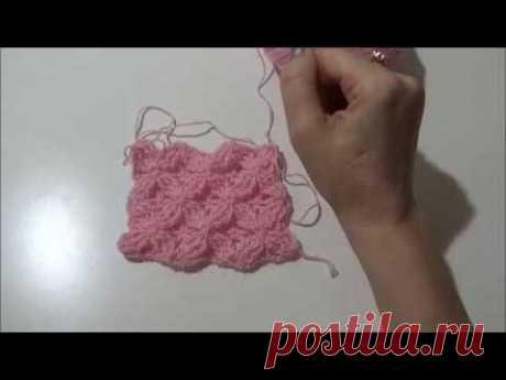 Punto Stella 3D a Uncinetto - 3D Star Stitch of Crocheting
