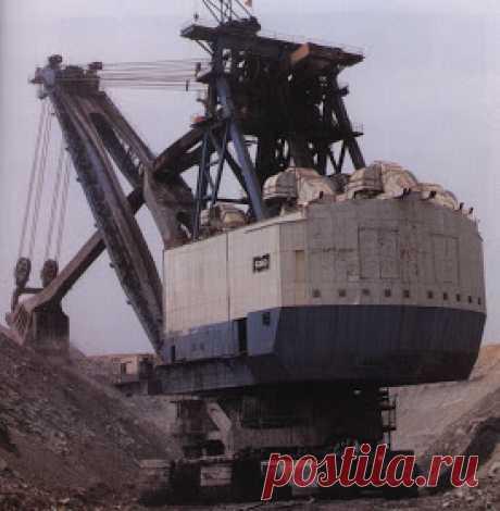 Bergmann Miner: Топ-10 механических лопат