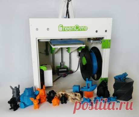 ЗD-принтер из вторичных комплектующих