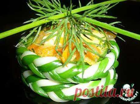 Тарталетки «Сырные плетeнки» - кулинарный рецепт