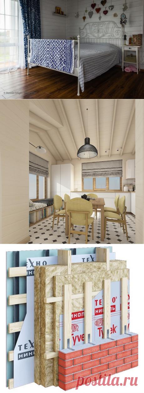 Красивый и энергоэффективный каркасный дом