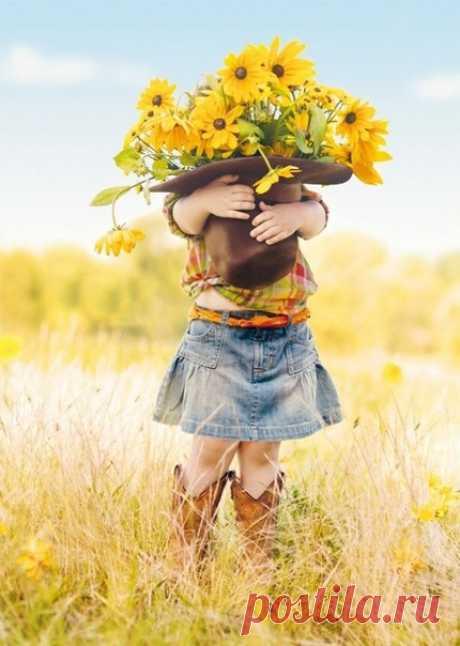 Пусть самой тяжёлой ношей в нашей жизни — будут цветы