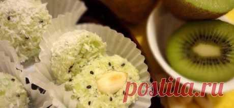 Диетический десерт «Киви-рафаэлло» — Мегаздоров