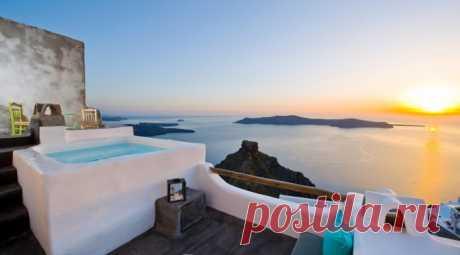 Santorinian harmony at Sophia Luxury Suites | Средиземноморская архитектура в Испании, Греции, Марокко, Египте / Mediterranean architecture and design