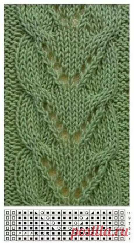Вязание спицами. Узоры / Рукоделие / crochet / Pinme.ru / Pinme в Яндекс.Коллекциях