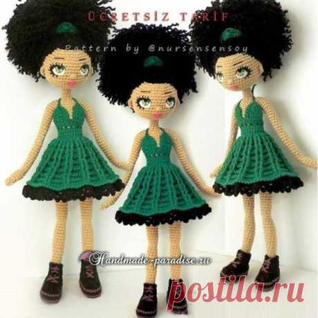 Amigurumi. Doll Mulatto hook